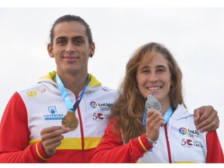 España se lleva dos de las medallas encanoa y kayak