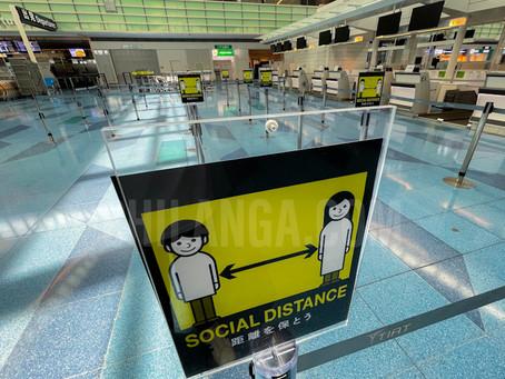 El turismo baja en Japón un 99.6 por ciento.