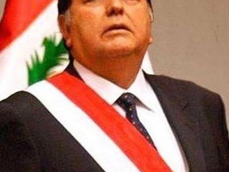 Murio ex-Presidente de Peru Alan Garcia.