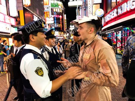 Halloween! Cuidado con los ladrones de carteras en Shibuya.