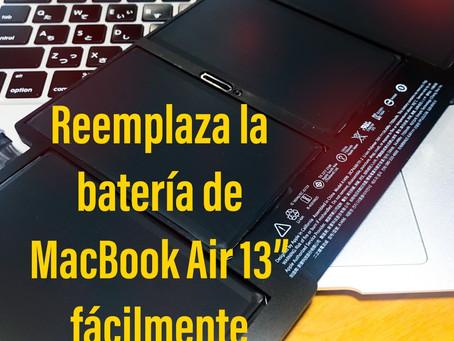 """Cómo cambiar la batería de tu computadora ( MacBook Air 13"""")"""