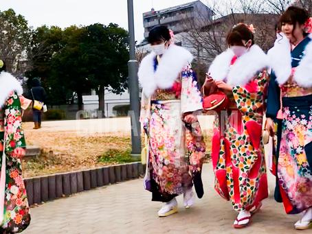 2021 Mayoría de edad en Japon