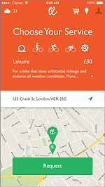 VonCrank bike repair app, Bike shop app