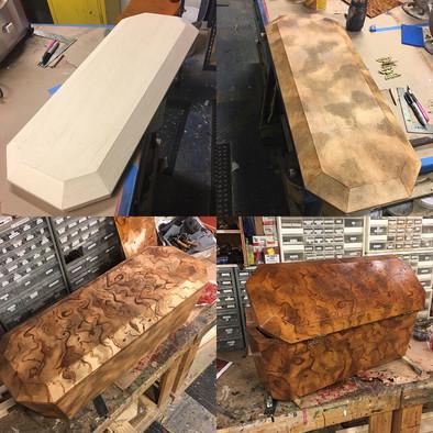 Burl Wood process