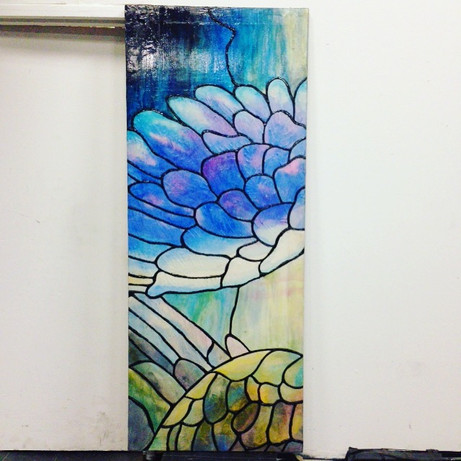 Stained Glass Painting using CrystalGel
