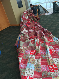 Giant Quilt (12'x28') for Wizard of Oz