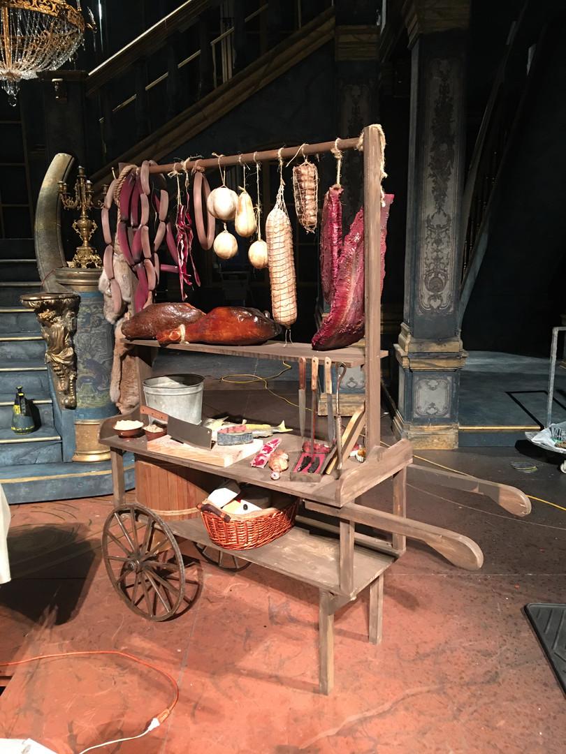 Constructed Meat Vendor Cart