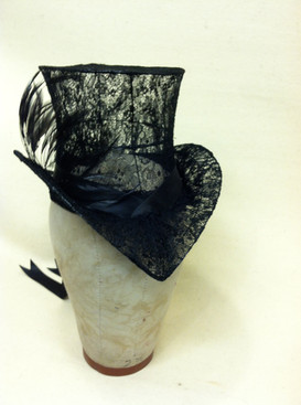 Wire and Lace Hat