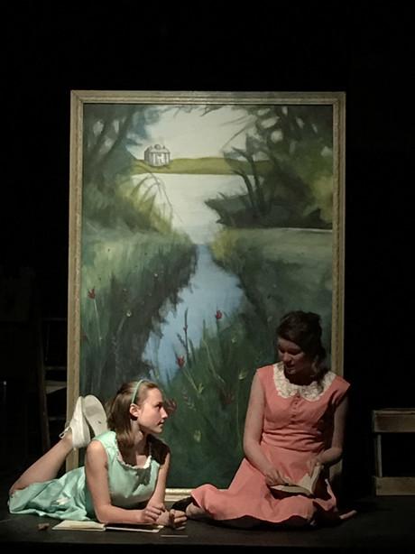 Landscape Painting for Alice in Wonderland