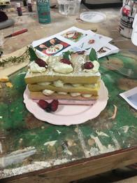 Fake Layered Cake
