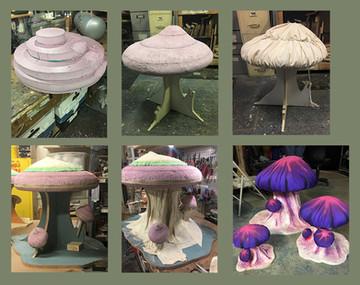 Mushrooms for Peter Pan