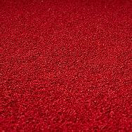 Teto acústico celulose cor vermelha