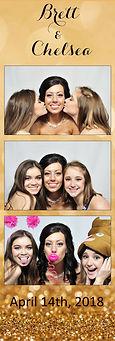 wedding strip photo booth