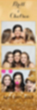 wedding strip photo booth