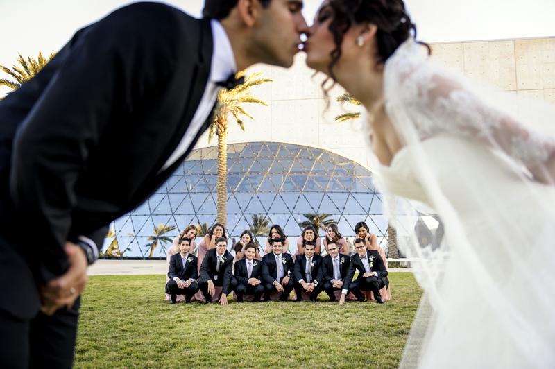 Bridal party portraits photography St Pa