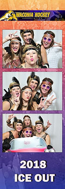 Graduation photo booth photos