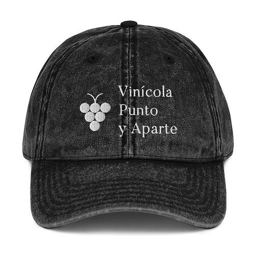 Gorra Algodón Vintage #VPYA