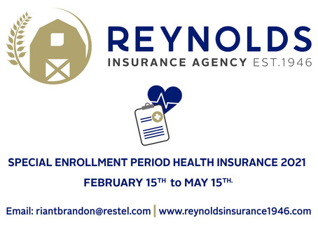 SPECIAL ENROLLMENT PERIOD FOR HEALTH INSURANCE BEGAN FEB. 15