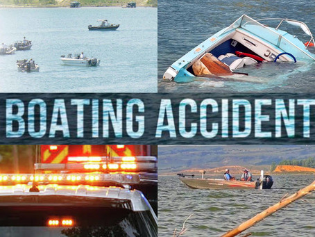 When are you required to file a boat accident report to North Dakota Game and Fish Department?