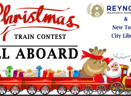 Reynolds Insurance Christmas Train Contest