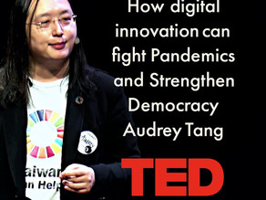 How digital innovation can fight pandemics and strengthen democracy | Audrey Tang | Talk on TED