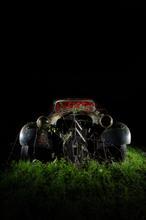 Derelict Citroen Traction Avant (Vintage