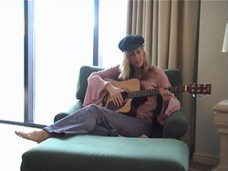 Downtime with a guitar