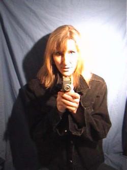 Gig poster mock-up - 2005