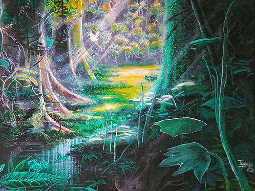 Natural habitat, Original painting