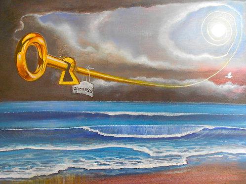 The key, Original painting