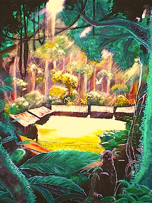 The clearing , Original painting