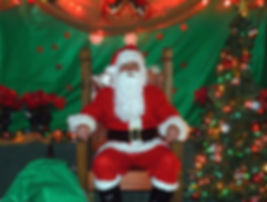 Santa Visits Riverside Bar in Madisonville