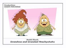 Grandma and Grandpa Mashpotatos modelshe