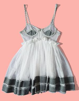 Tulle babydoll dress