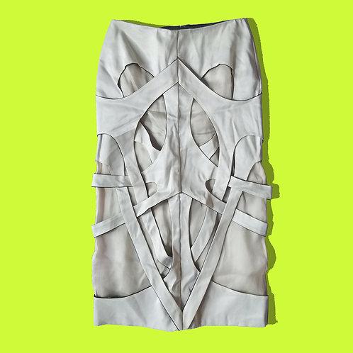 Long Interlock Skirt