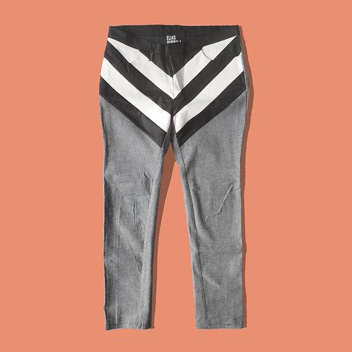 Chevron trouser