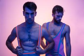 Color blocked bodysuits