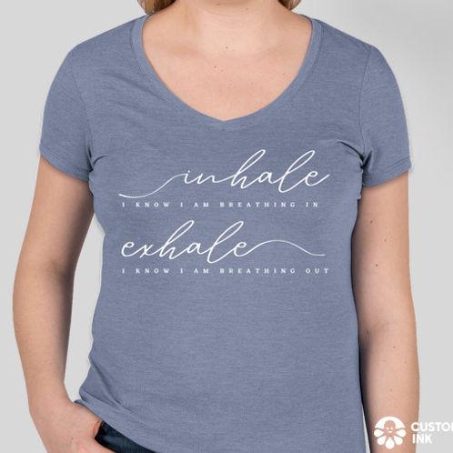 Breathe V-Neck T-Shirt