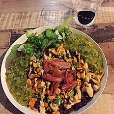 Vegan Burrito Salad Bowl