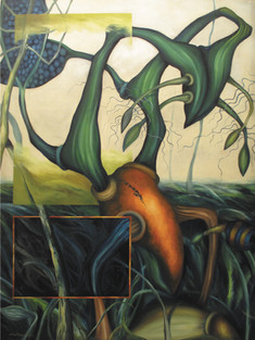 CARTEREAU-Mangrove acrylique