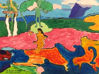 Les Gauguin en Herbe
