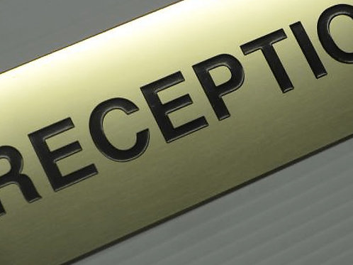 Brass Etched Sign