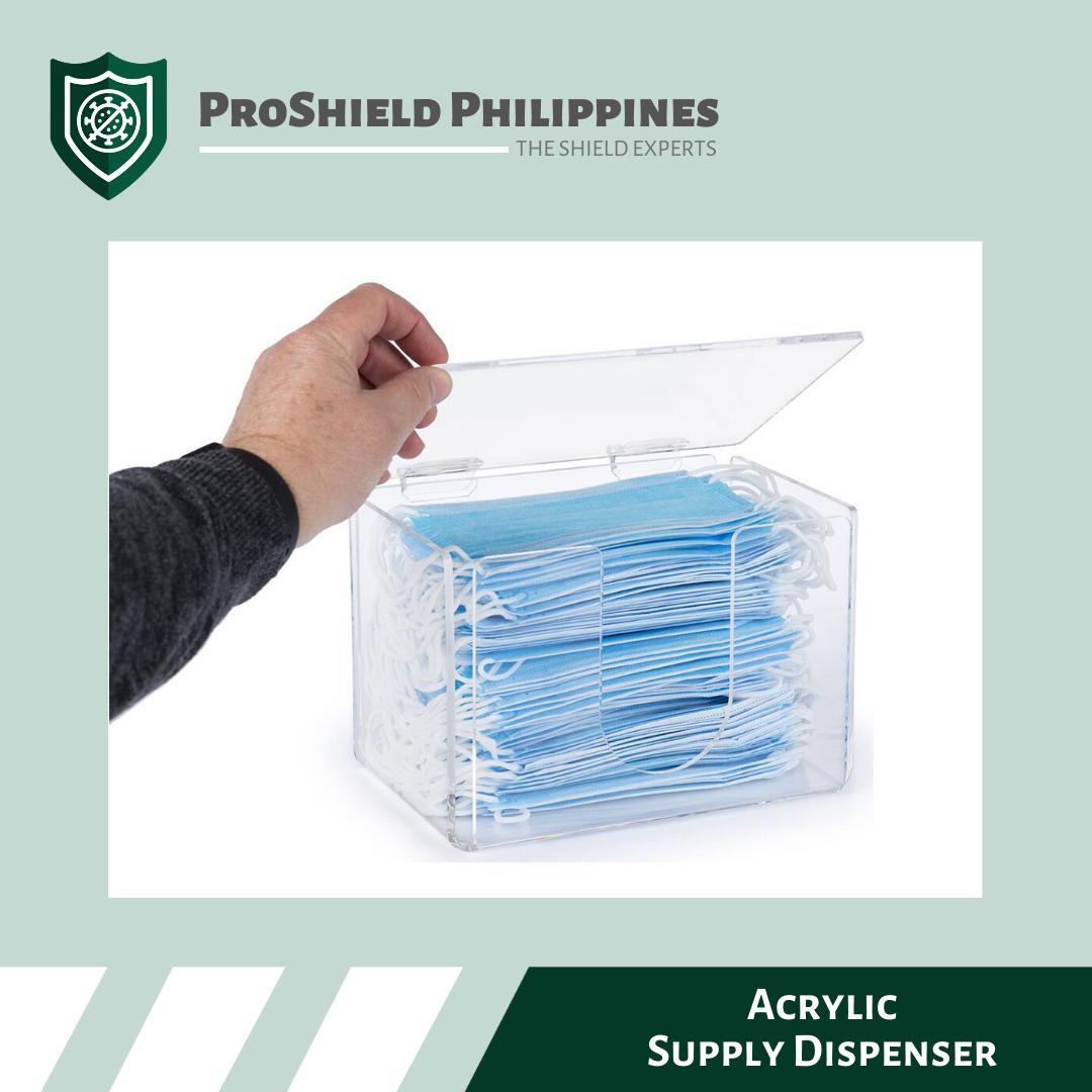 Acrylic Supply Dispenser