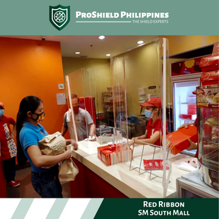 Counter Dividers at Red Ribbon SM Soth Mall