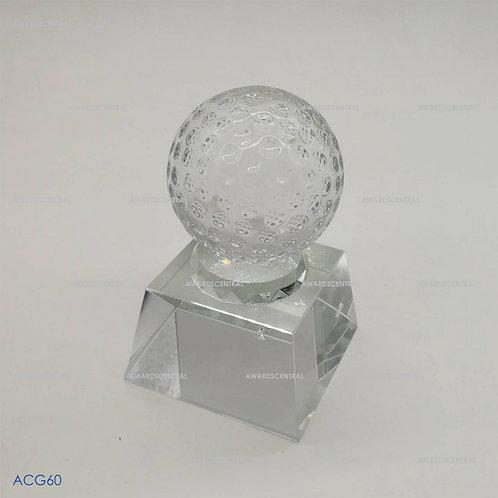 ACG60 - Golf Crystal Trophy Series