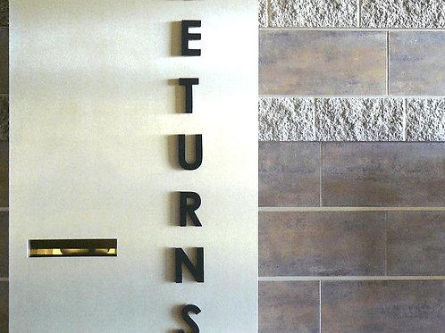 Acrylic Cutout Sign