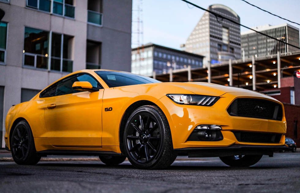Ford Mustang GT PPF