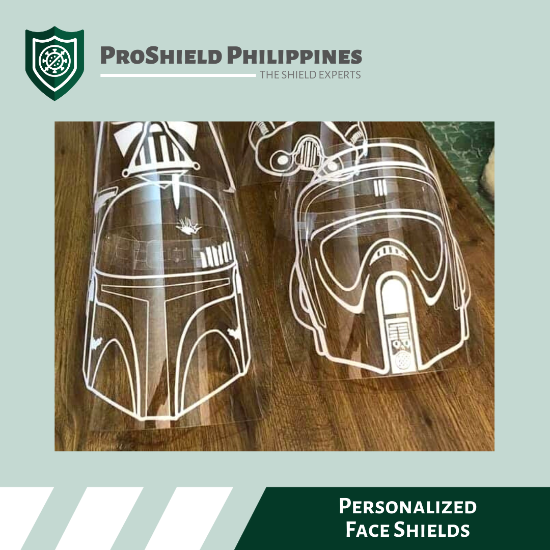 Personalized Face Shields / Visors
