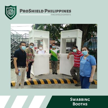 Custom Swabbing Booths for Fe Del Mundo Medical Center