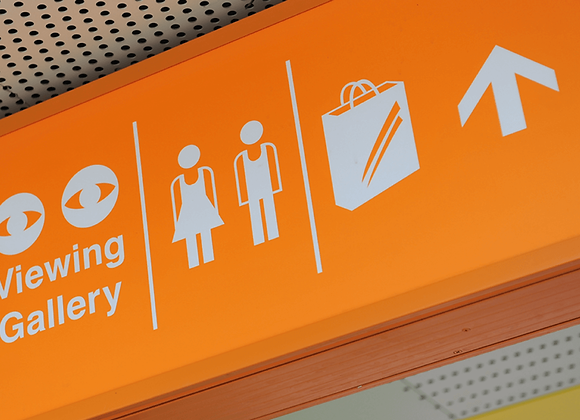 Mall Directional Sign